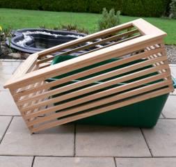 das hochbeet f r terrasse und balkon hochbeete u komposter von herb gr 87490. Black Bedroom Furniture Sets. Home Design Ideas